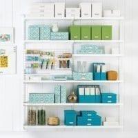Elfa Craft Room Solution
