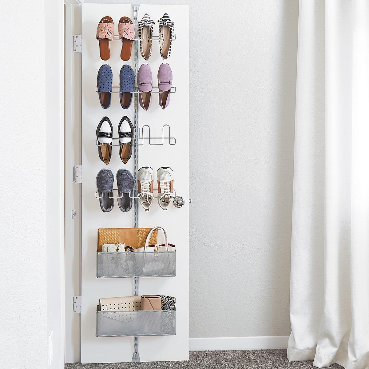 Elfa Utility Shoe Storage Door And Rack