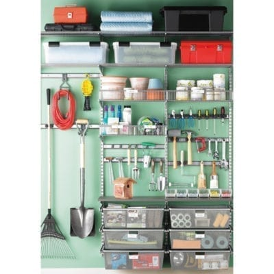 Elfa Solution Garage Platinum