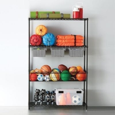InterMetro Garage Shelving with Drawers