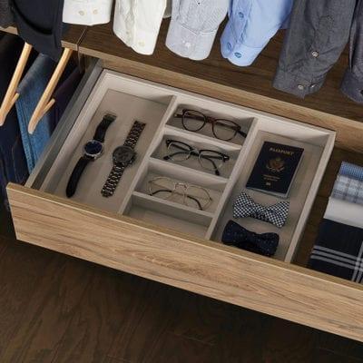 Avera Custom Closet Truffle Drawer