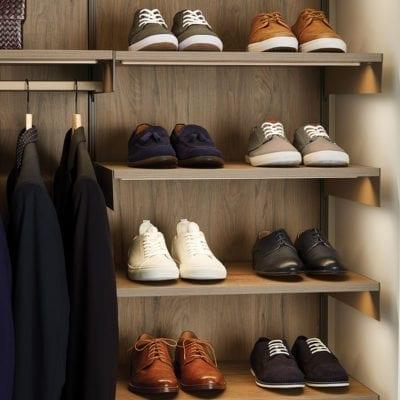 Avera Shoe Shelves Truffle