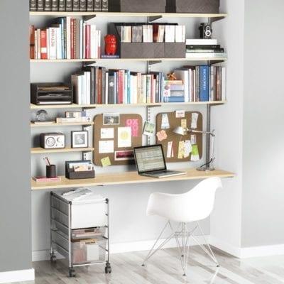 Elfa Solution Office Shelving