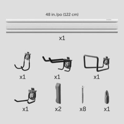 Gladiator Gear Track Components