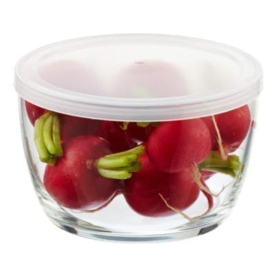 Glass Bowl with lids