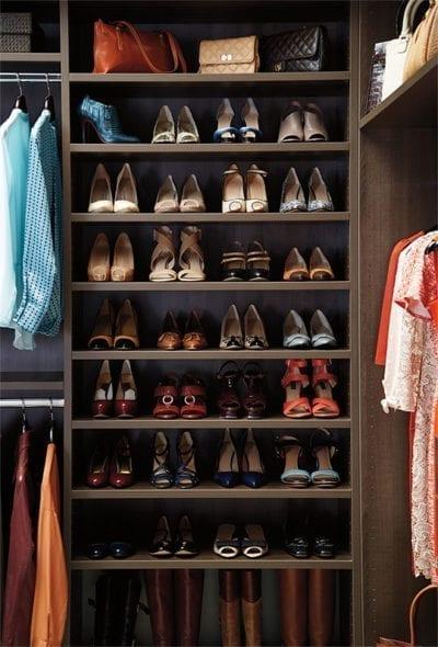Laren Custom Closets Flint Shoes