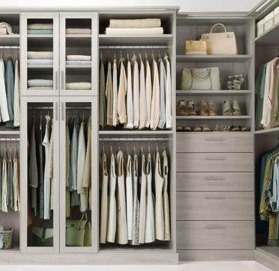 Laren Custom Closets Grey