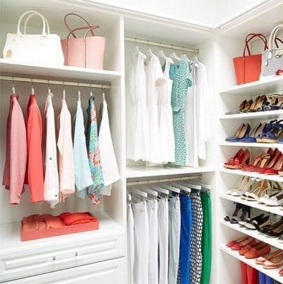 Laren Custom Closet Hanging