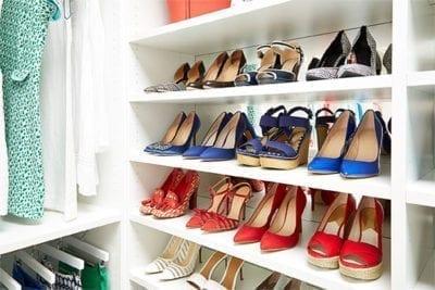 Laren Custom Closet Shoes