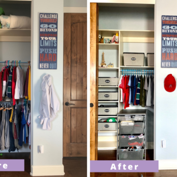 5 Tips For Organizing Kids Closets - Wurth Organizing