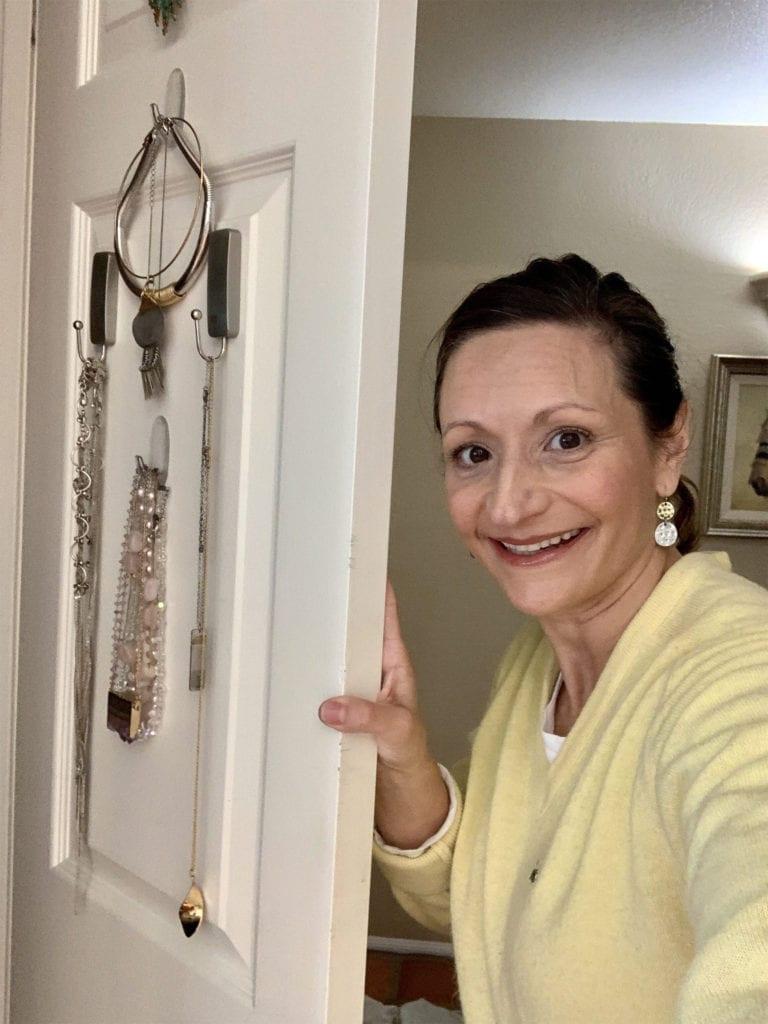 DIY Jewelry and Coat Organization