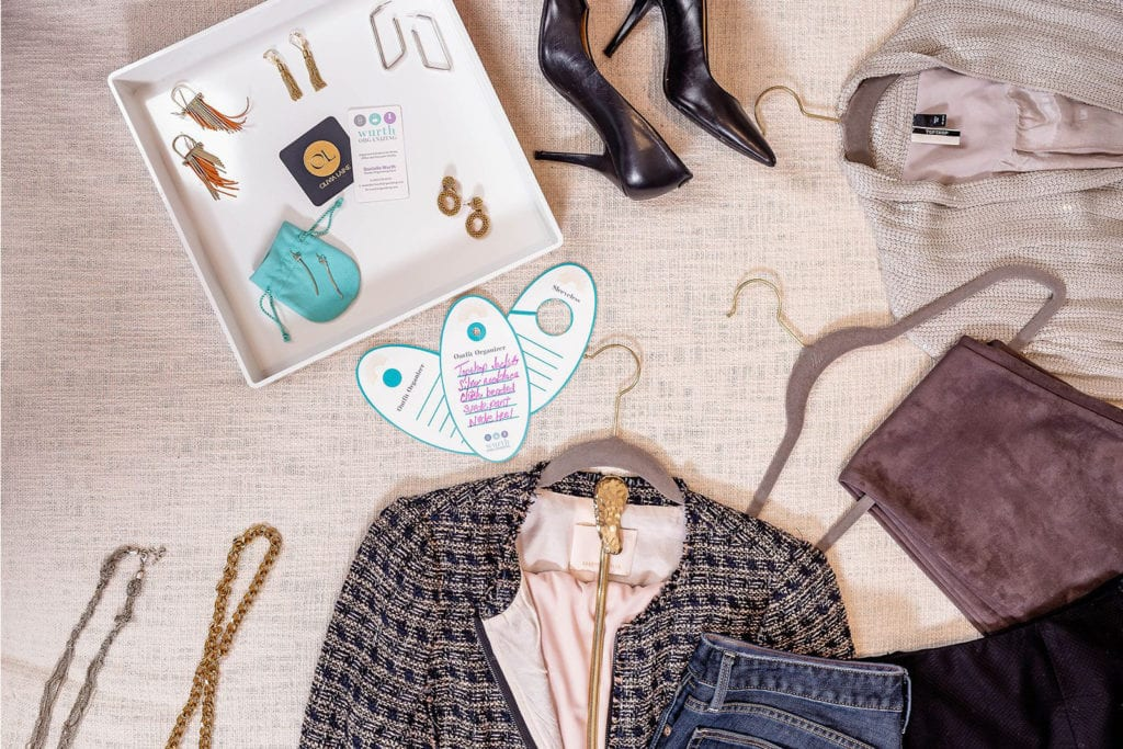 DIY Jewelry and Coat Organization - Wurth Organizing
